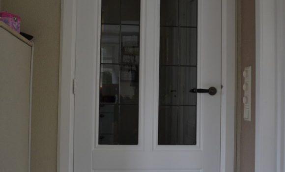 Bestaande binnendeuren vervangen (glas en panelen)