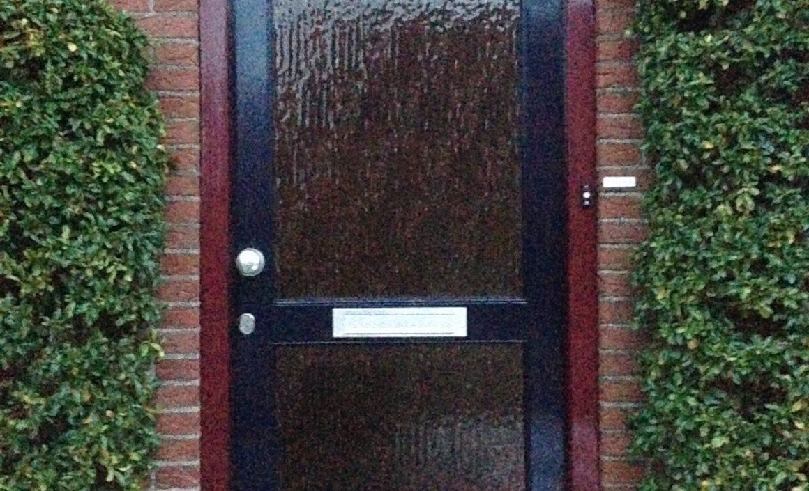 Bestaande voordeur vervangen (hout)