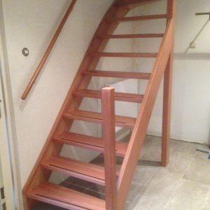 Bestaande trap vervangen voor nieuwe trap
