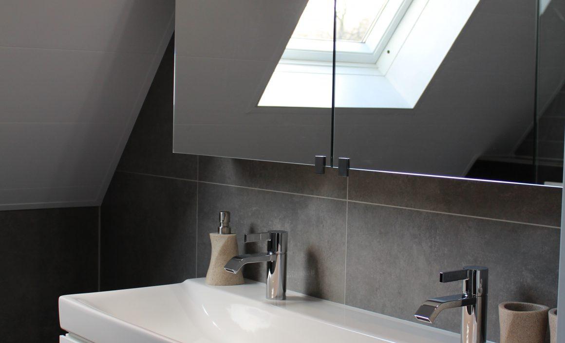Vernieuwde badkamer 2