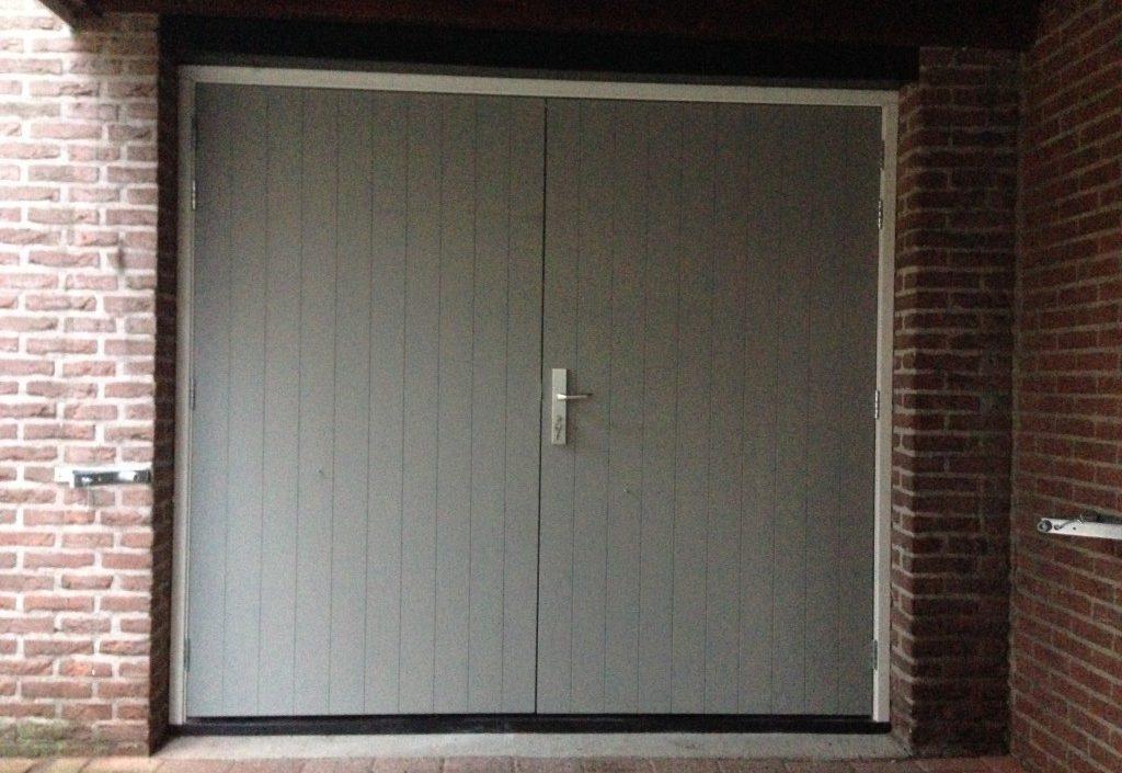 Nieuwe garagedeuren