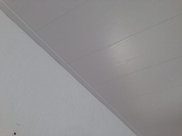 Nieuw plafond (woonkamer)